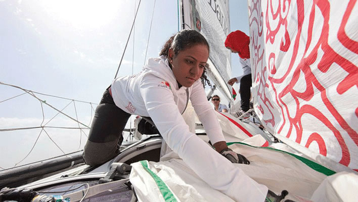 Raya Al Habsi, Oman Women's Sailing Team 2012
