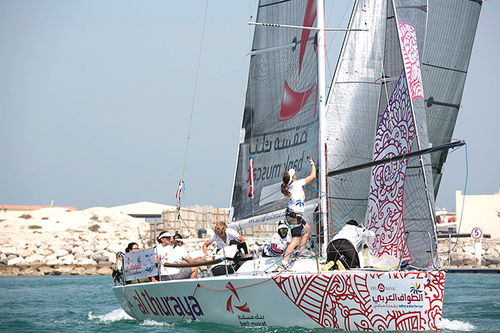 Leg 4 in-port sailing