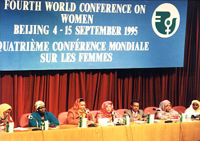 Fourth World Conference on Women, Beijing, China 1995
