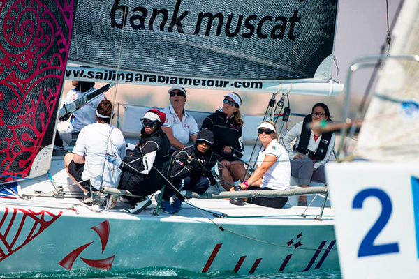 In port racing Leg 2