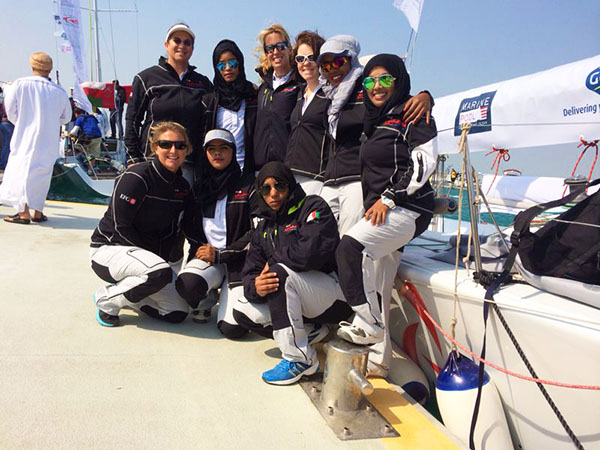 Omani Women's Sailing Team ~ SATT 2014