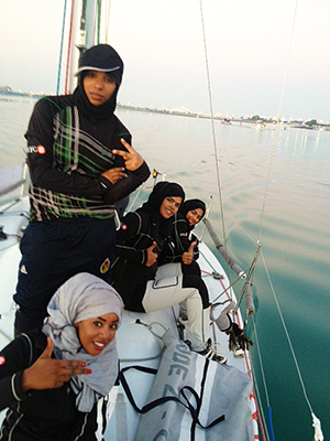 Omani Women's Sailing Team