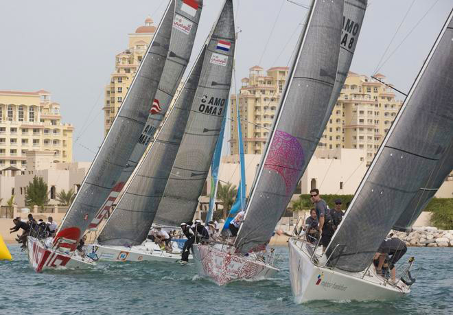 Inport racing at Ras Al Khaimah