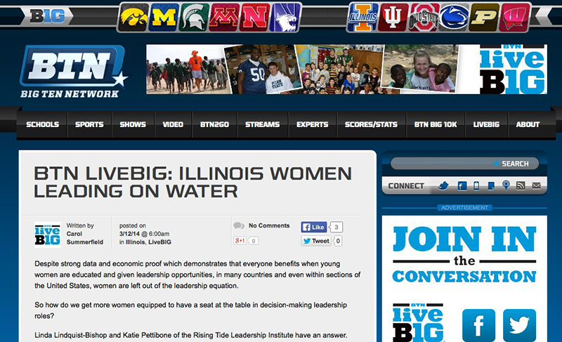 BTN home page